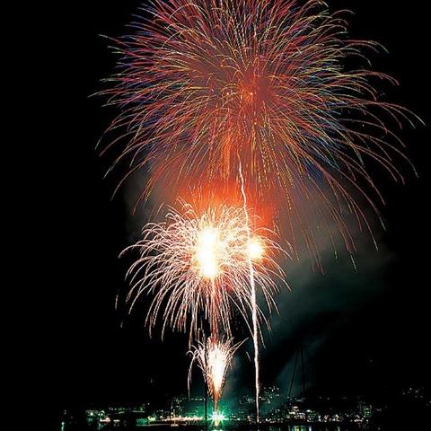 按針祭海の花火大会のサムネイル