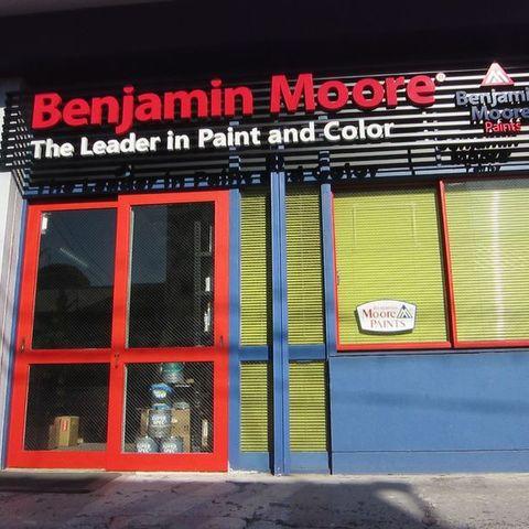 Benjamin Moore Shizuoka presentation shop