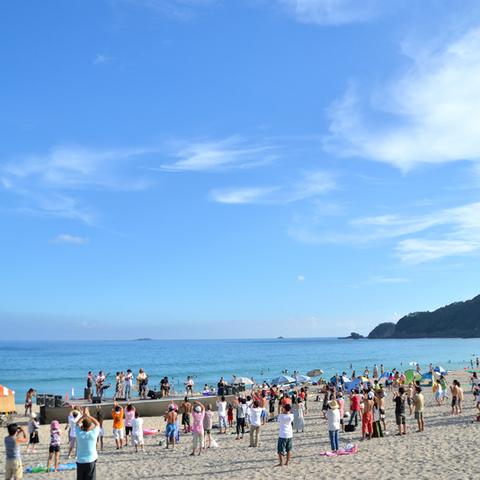 吉佐美大浜海水浴場(きさみおおはま)のサムネイル
