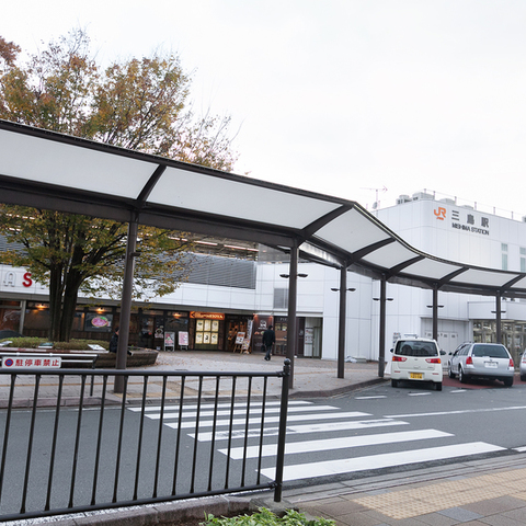 The Mishima Station north exit