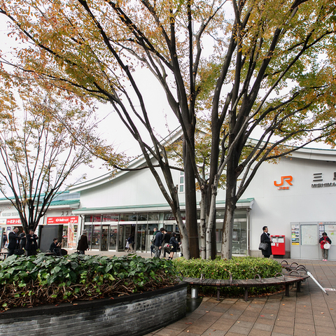 The Mishima Station south exit
