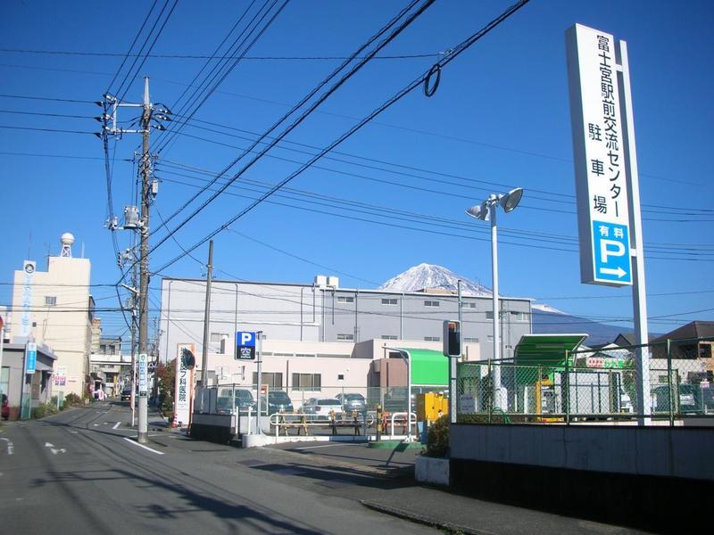 富士宮駅前交流センター駐車場(有料)の写真