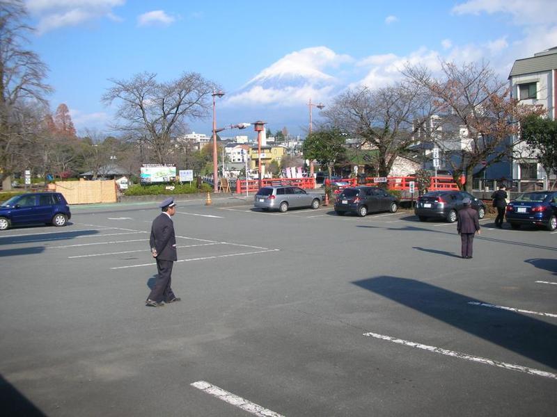 浅間大社/第2駐車場の写真