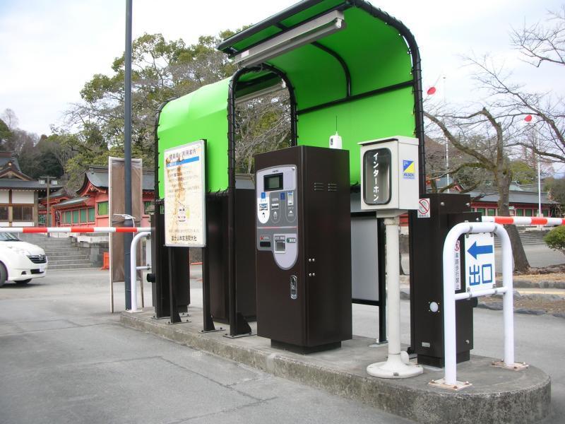 浅間大社/第1駐車場の写真