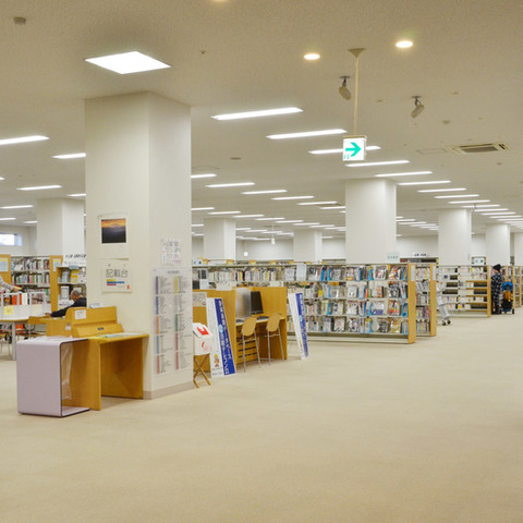 Fujieda-city station south library