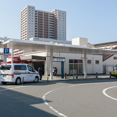 The Numazu Station north exit