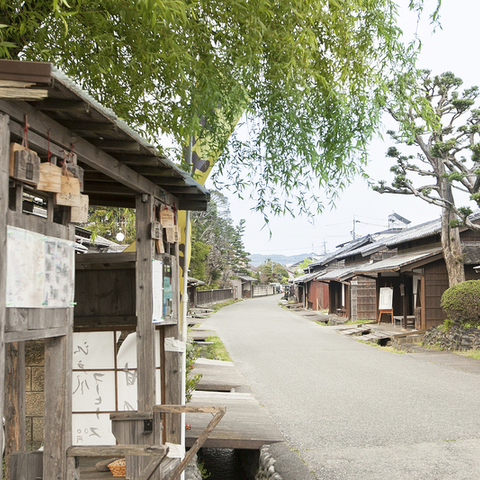 The remains of Shimada accommodation Oi River Kawagoe