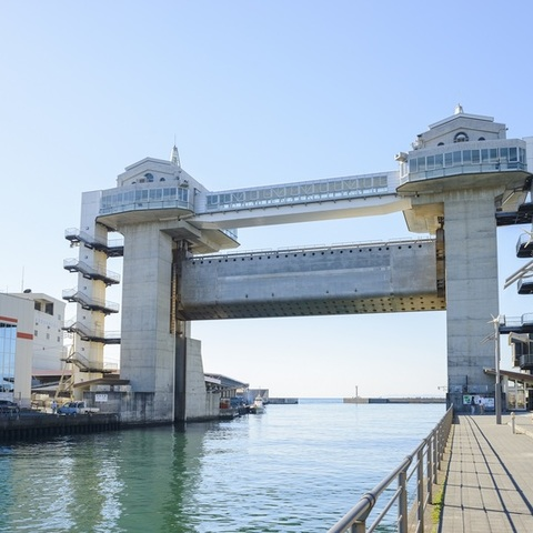 Numazu Port large size prospects water gate byuo