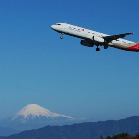 富士山静岡空港(展望台より) (富士山ビューポイント)のサムネイル