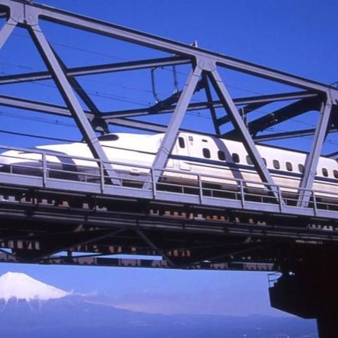 東海道新幹線富士川橋梁 (富士山ビューポイント)のサムネイル