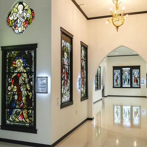Kakegawa-city stained glass Museum
