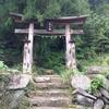 春日神社の木製鳥居