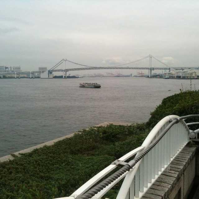竹芝桟橋上