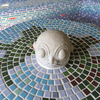 海神さまの丸テーブル