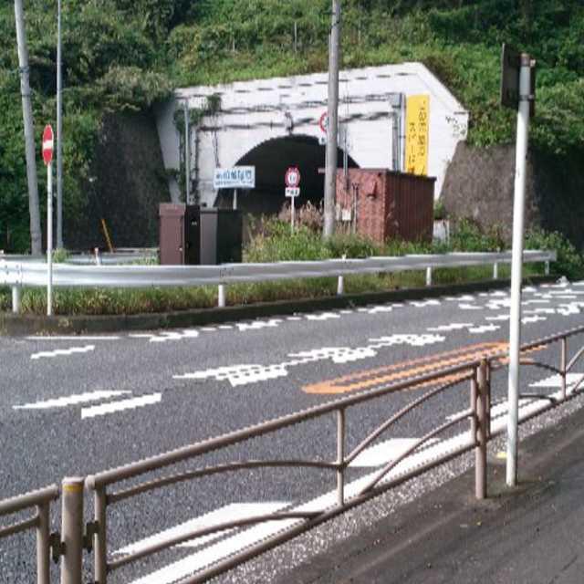 昔のトンネル
