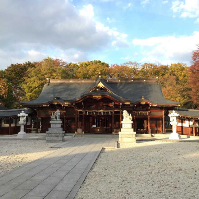 立川の古社