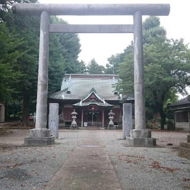 荻野神社の本殿