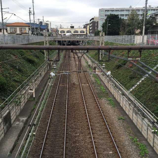 線路をまたぐ