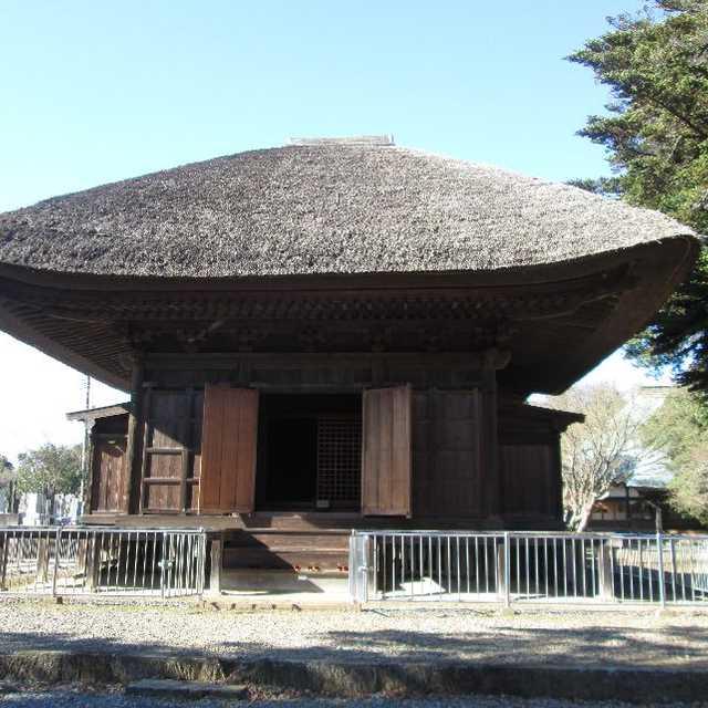 龍禅寺三仏堂