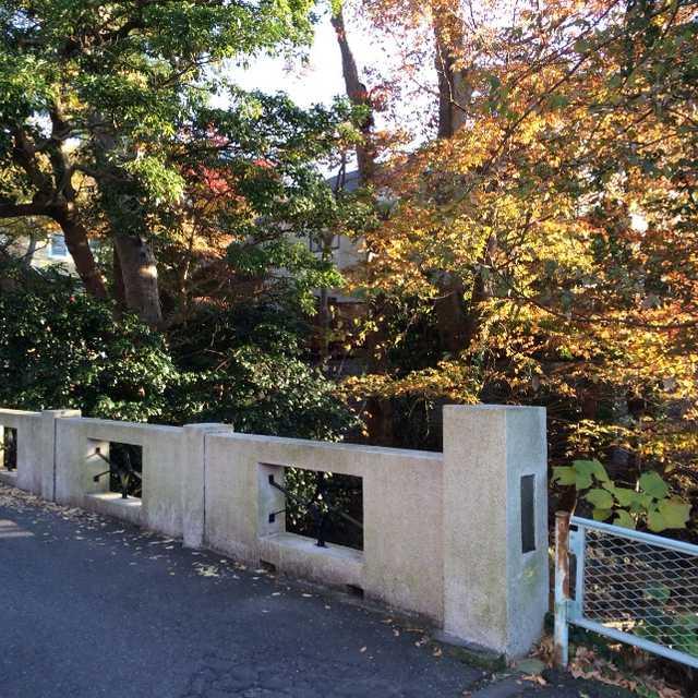かまくら景観百選に選ばれた橋