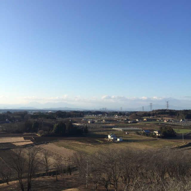 富士山公園の展望台