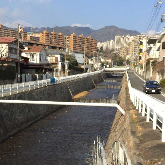 六甲山系の川