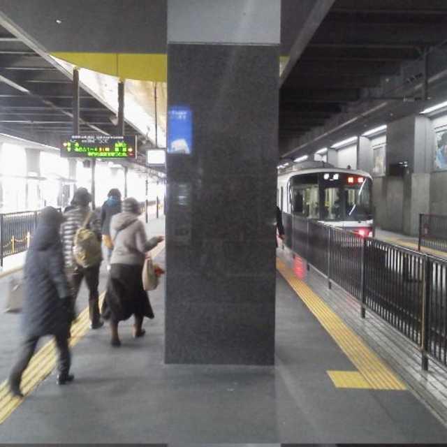 嵯峨野線乗り場