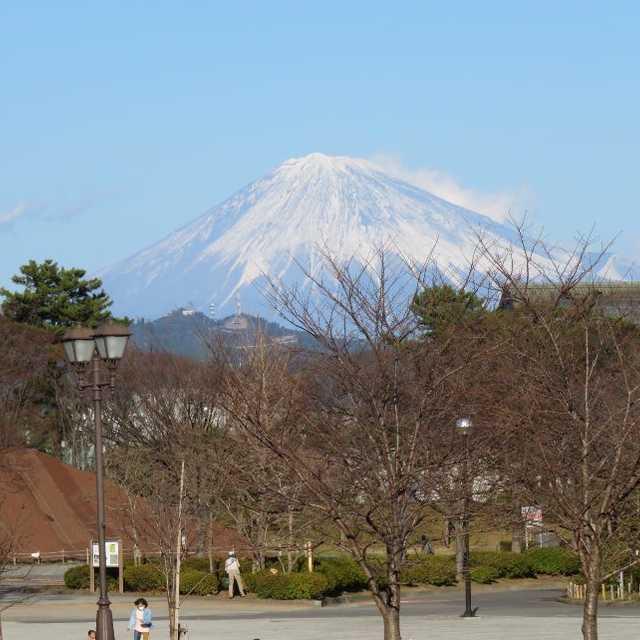 駿府城の富士見広場