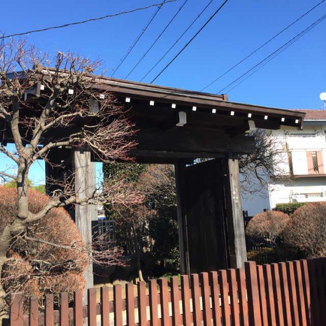 中島家の門
