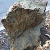故郷の石を石碑にしました