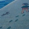 砂山をお散歩