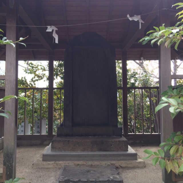 伊東肥前の碑
