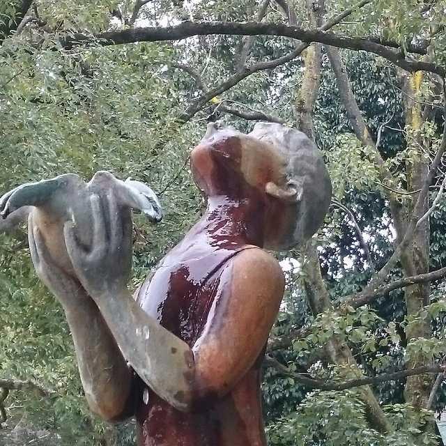 噴水小僧の像