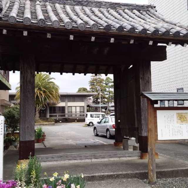 掛川城蕗の門