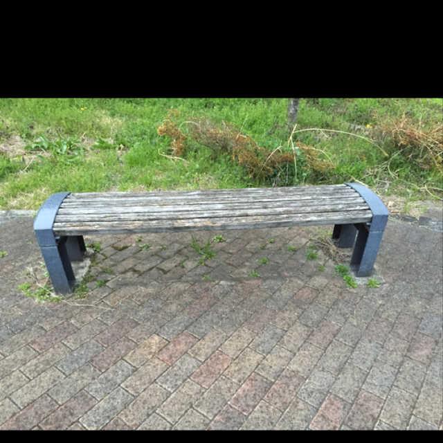 ここにベンチがありま