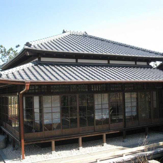 二子玉川の日本庭園