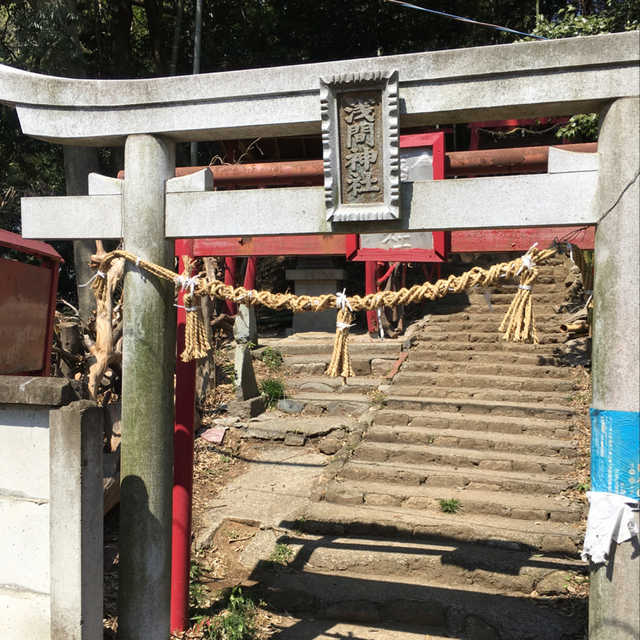 鴻巣の富士塚