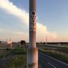 歩道橋の街灯⑤