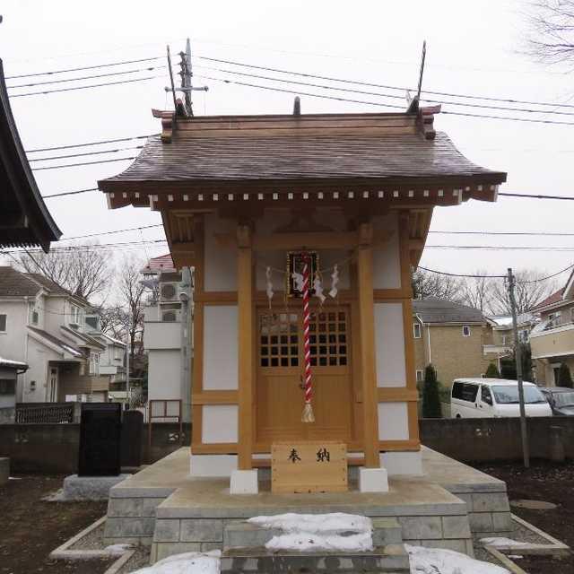 合祀された二ツ塚神社
