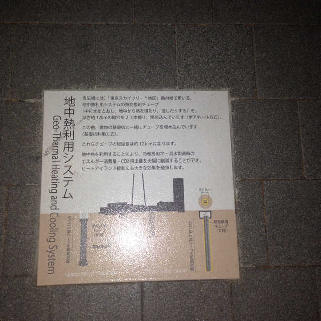 東京スカイツリーの周りは冬でも暖かい?!