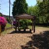 寺が池公園休憩所2で