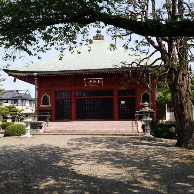 来迎寺の仏頭