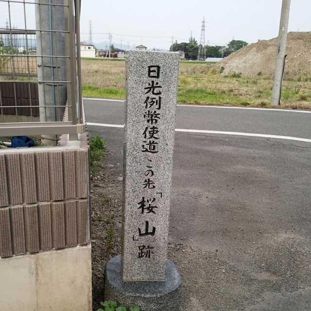 この先「桜山」跡