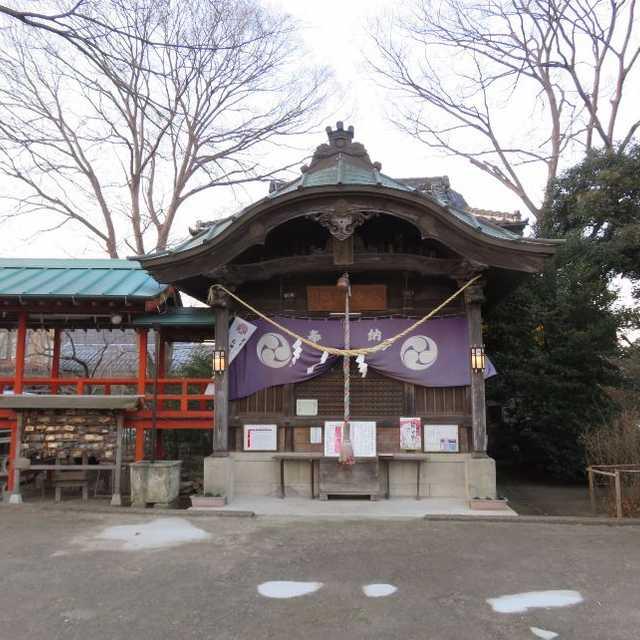 水海道の八幡神社