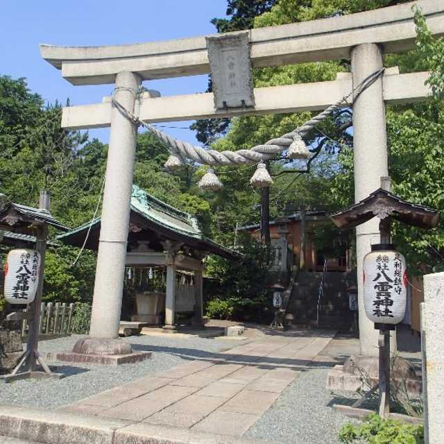 渡良瀬橋の神社