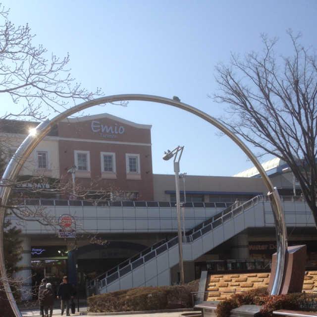 田無駅前の『平和のリング』