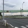 ここから歩道橋を見る