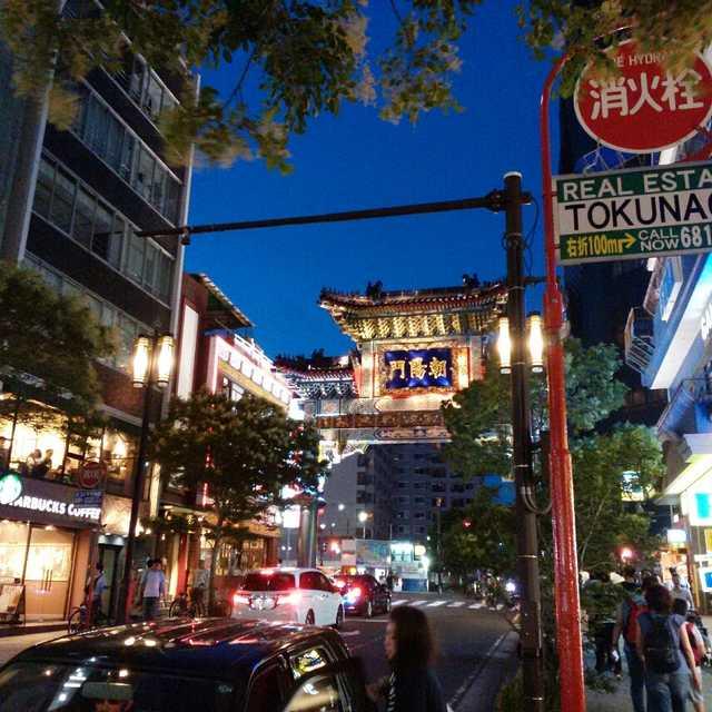 横浜中華街(^_^)
