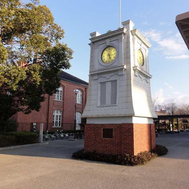 赤レンガの時計台