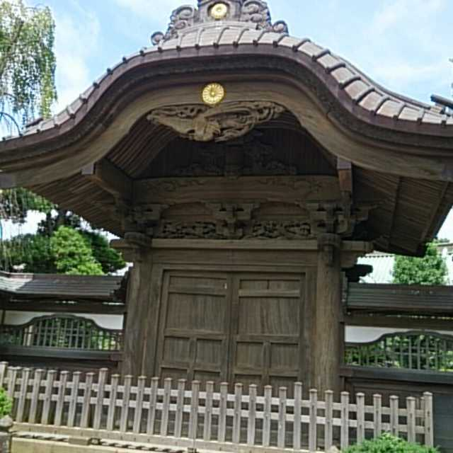 清浄光寺 中雀門